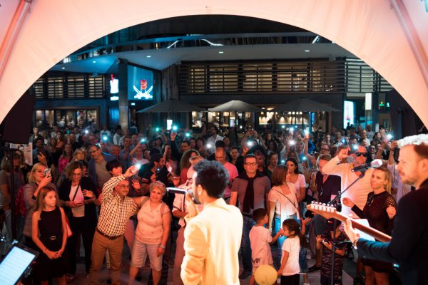 Salman Soul als Hochzeitsband live vor Publikum